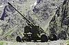 ID 3304338 | Wetter Pistole zwischen Bergen von Nordossetien | Foto mit hoher Auflösung | CLIPARTO