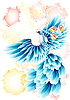 blue fairy bird