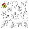 Geburtstag-Clipart