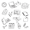 Vector clipart: Office Set
