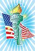 ID 3082401 | Hand of Liberty | Klipart wektorowy | KLIPARTO