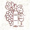 Wein und Traube