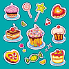 Holiday Sweets Stickers