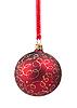 Boże Narodzenie czerwone kulki | Stock Foto