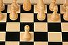 ID 3060712 | Erster Schritt im Schach | Foto mit hoher Auflösung | CLIPARTO