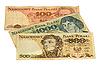 ID 3060875 | Polnische Złoty-Banknoten | Foto mit hoher Auflösung | CLIPARTO