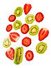ID 3067359 | Erdbeere undKiwi | Foto mit hoher Auflösung | CLIPARTO