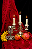 ID 3067398 | Puchar, owoce i świece | Foto stockowe wysokiej rozdzielczości | KLIPARTO