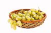 ID 3068006 | Winogrona w koszyczku | Foto stockowe wysokiej rozdzielczości | KLIPARTO