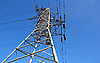 ID 3067393 | Hochspannung-Stütze und blauer Himmel | Foto mit hoher Auflösung | CLIPARTO
