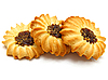 Kekse mit Konfitüre | Stock Foto