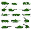 Panzer, Artillerie und Fahrzeuge aus dem Zweiten Weltkrieg