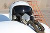 飞行员的保护头盔 | 免版税照片