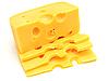 Stück Käse | Stock Foto