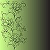 花朵图案 | 向量插图