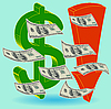 Vektor Cliparts: Crisis Finanzen