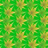 Vektor Cliparts: Pattern mit Curling Blätter einer Pflanze