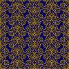 Nahtloses Pattern von abstrakten glatten Formen