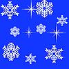 Schneeflocken | Stock Vektrografik