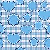 Blaue Applikation - nahtloser Hintergrund