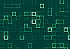 Streszczenie tle mozaiki zielonych płytek | Stock Illustration