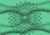Zielone tło abstrakcyjna | Stock Illustration