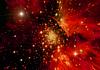 Estrellas del planeta y la galaxia en el espacio libre | Ilustración