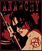 Anarchie-Frau