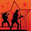 Zespół rockowy | Stock Vector Graphics