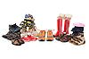 Buty dla dzieci i buty | Stock Foto