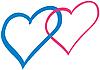 ID 3080507 | Angeschlossene Herzen | Illustration mit hoher Auflösung | CLIPARTO