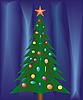 Vektor Cliparts: Weihnachten festlich.