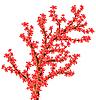 Vektor Cliparts: abstrakter blühenden Baum.