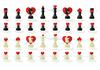 ID 3083753 | Miłosne szachy | Klipart wektorowy | KLIPARTO