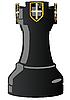 Schwarzer Schach-Turm | Stock Vektrografik
