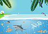 Vektor Cliparts: Seacoast