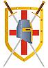 ID 3160254 | Schwert und Schild | Stock Vektorgrafik | CLIPARTO