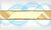 Сине-золотой фон | Векторный клипарт