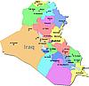 Landkarte von Irak