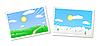 ID 3087078 | Zimowe i letnie pejzaże | Klipart wektorowy | KLIPARTO