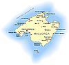 Landkarte von Mallorca