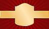 Красно-золотой фон | Векторный клипарт