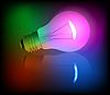 Neon Glühbirne