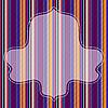 ID 3089976 | Bunter gestreifter Hintergrund mit Rahmen | Stock Vektorgrafik | CLIPARTO