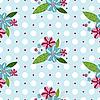 Nahtloses sanftes florales Muster