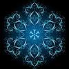 dekorative Schneeflocke