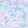 Weihnachtshintergrund von Schneeflocken