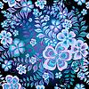 ID 3211384 | Dunkles nahtloses Blumenmuster | Illustration mit hoher Auflösung | CLIPARTO