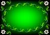 Grüne Ostern Hintergrund Blume