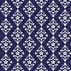 Violett und Weiß nahtlose Muster